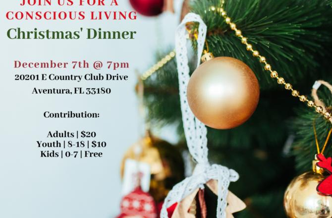 Conscious Living Christmas Dinner
